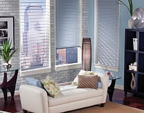 Available either in either horizontal or vertical applications, blinds are some of the most commonly used coverings for windows.