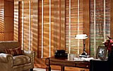 Blinds are used for light control and privacy. They are not used to block all light.