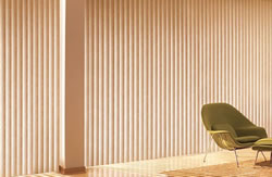 Vertical Blinds are best suited for tall windows and sliding doors.