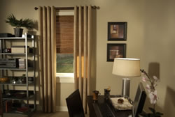 The style and material of the drapery will vary depending on many factors from atmosphere the client wishes to convey to the practical application of the drapes.