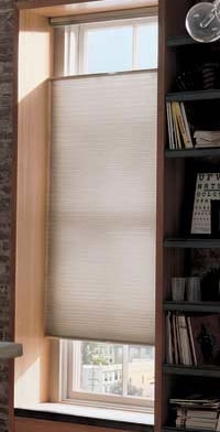 There are crossover products such as Sillhouettes by Hunter Douglas which combine shades with blinds to give the best of both products. Roman shades also fall into the sunscreen category.