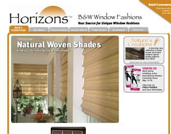 Horizon Shades by Silverline Specialties