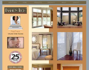 Fashion Tech Window Treatments by Silverline Specialties