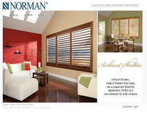 Norman Window Treatments by Silverline Specialties